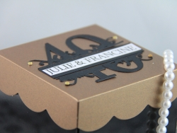 Custom Fab40 Boxed Invitations