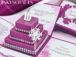 Nyre Sweet Sixteen Invitation