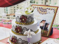 Sooknanan Indian Themed Wedding Invitation