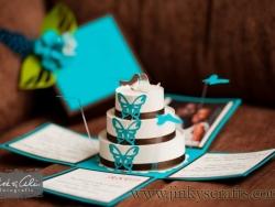 Marcel Custom Wedding Invitation