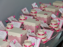 Pink & Creme Quince Invitations