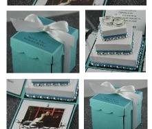 Dagny Exploding Box Invitation