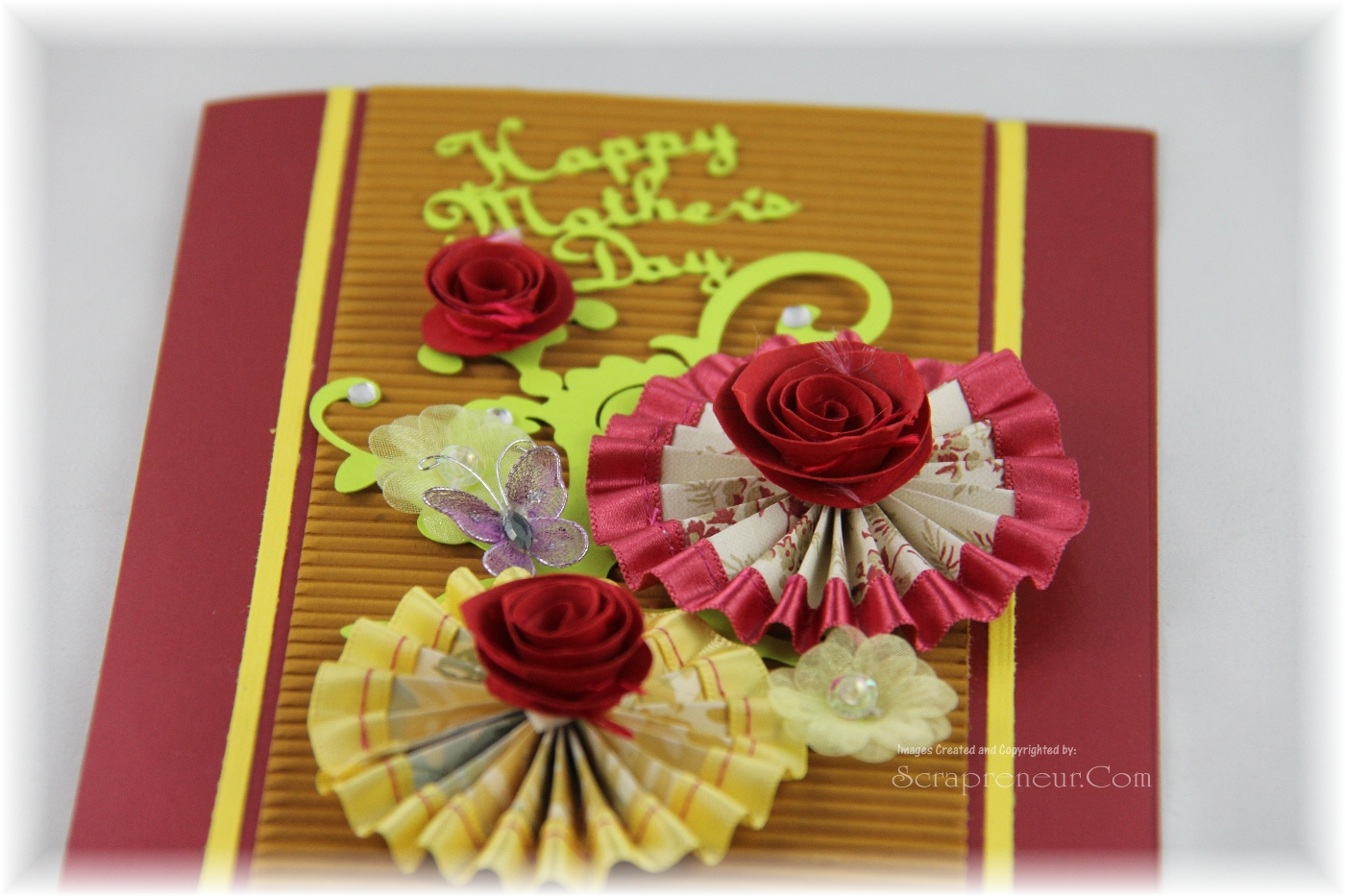 Rosette Mother's Day Card
