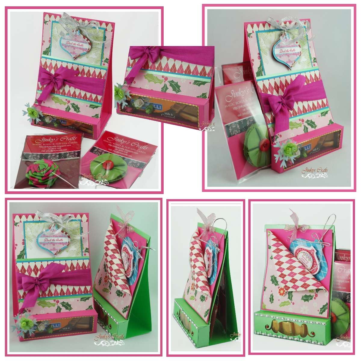 Cool Image Hello Winter Saying · 3 In 1 Gift Packaging PDF Tutorial (  Greeting Card+Favor Box+