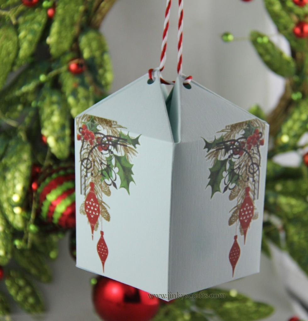 Surprise Box Christmas Ornament