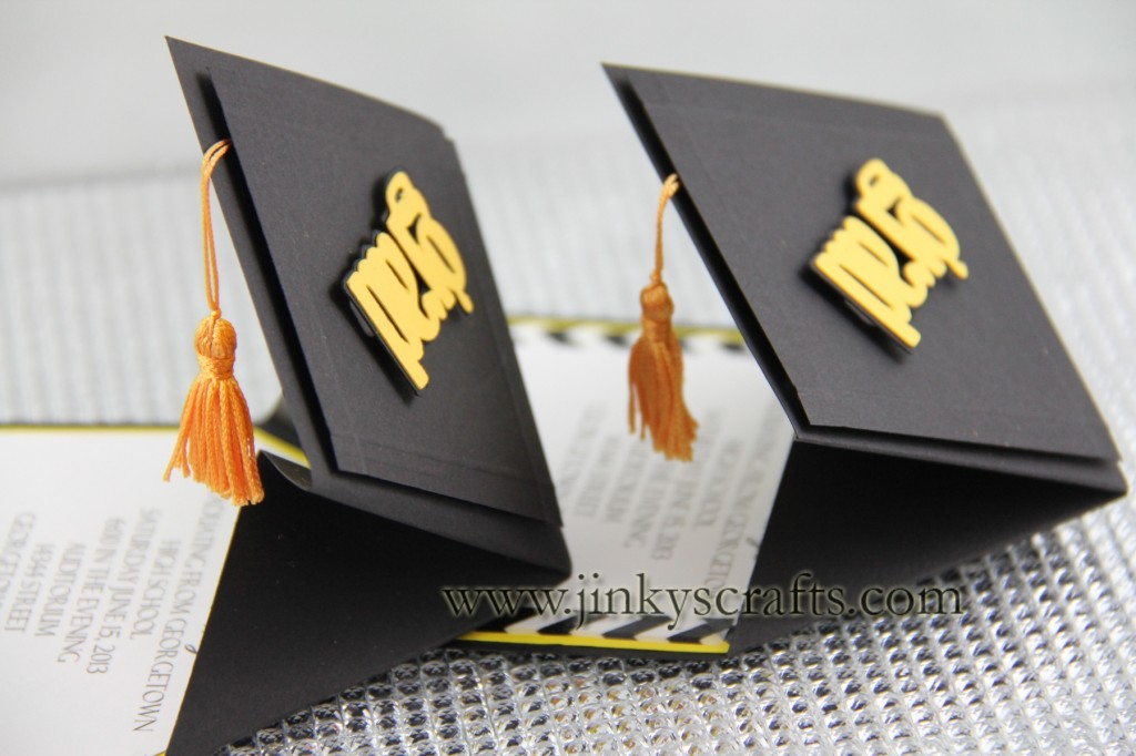 Home Cards and Invitations 3D Graduation Cap Pop-Up Invitations