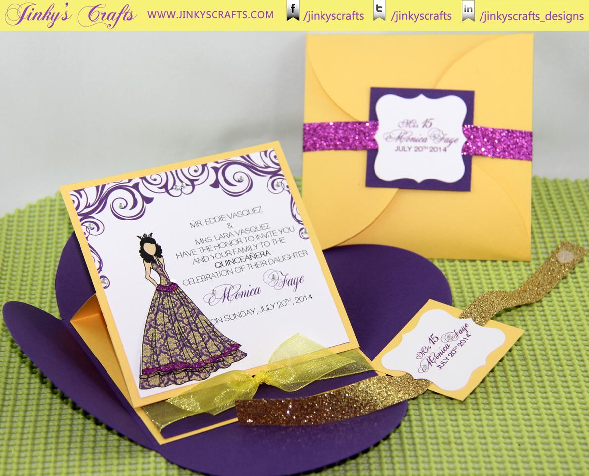 Princess Inspired Pochette – Petal Envelope Easel Card