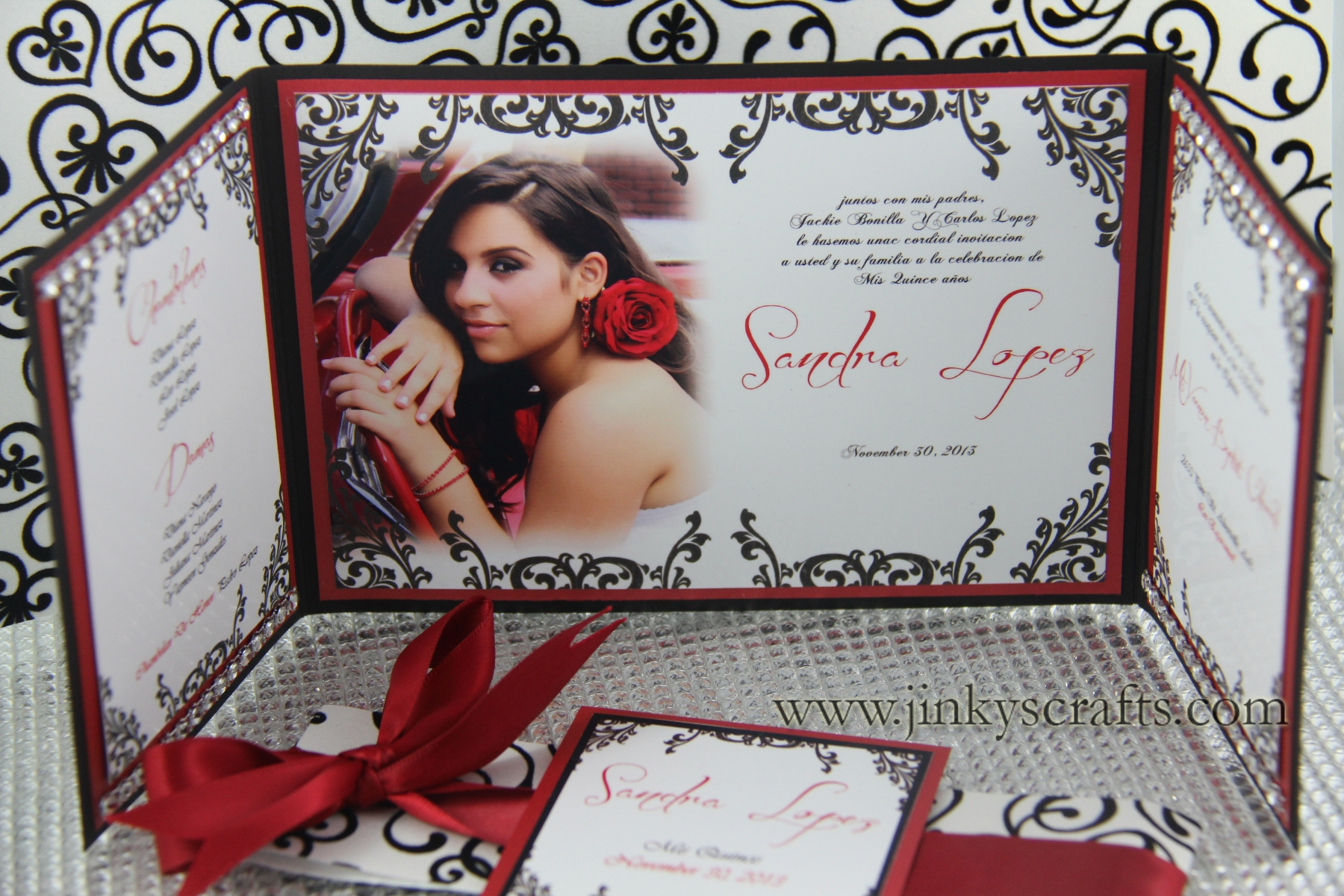 Elegant Quinceanera Invitations is an amazing ideas you had to choose for invitation design