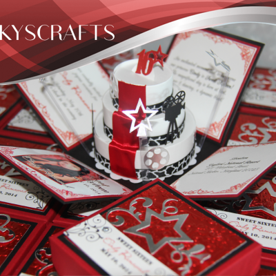Hollywood Red Carpet Invitations