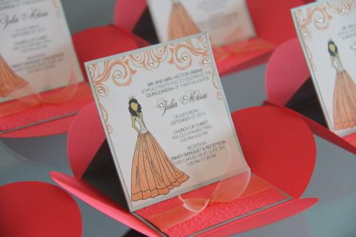 Princess Pochette Invitations