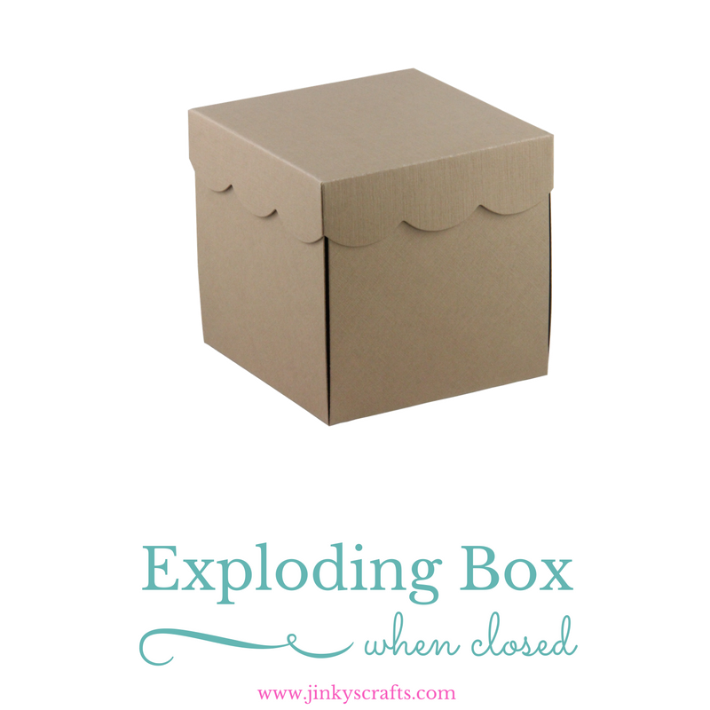 Exploding Box Kit Un Assembled